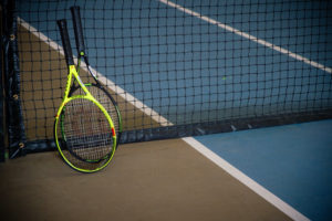 Picture of tennis rackets