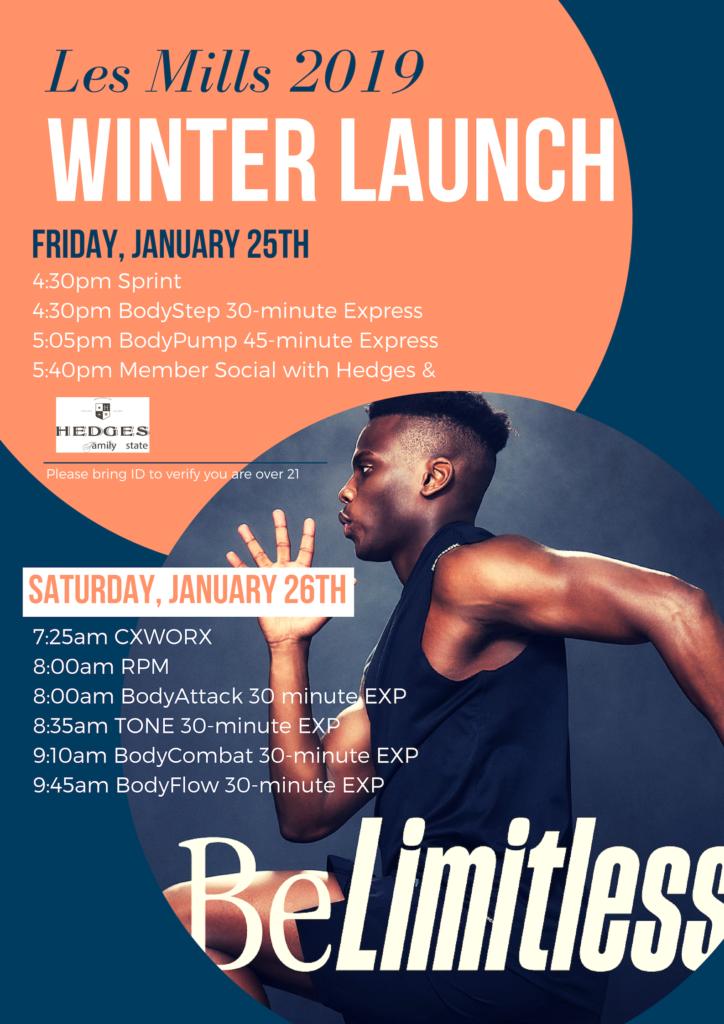 LM Winter Launch Jan 25 & 26
